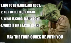 May the 4 Cures Be With You!